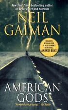 American Gods by Neil Gaiman (2002, Paperback)