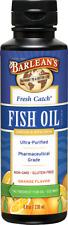 Fresh Catch Fish Oil Orange Flavor Barlean's 8 oz Liquid