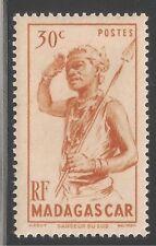 Madagascar (French) #270 (A17) VF MINT LH - 1946 30c Southern Dancer