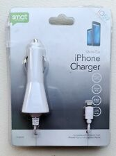 In Car Charger White Apple iPhone 5/5C  iPhone 6/6 Plus IOS9 Smart Accessories