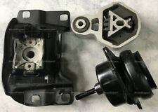 3pc Engine Transmission Mounts fits Ford Explorer 2012 2013 2014 2015 2.0L Turbo