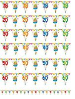 Decoration anniversaire guirlande de fanions fete birthday banderole articles