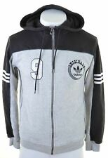 ADIDAS Mens Hoodie Sweater Small Grey Cotton  JN08