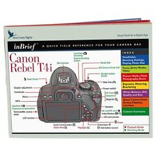 Blue Crane InBrief Laminated Quick Reference for Canon EOS Rebel T4i