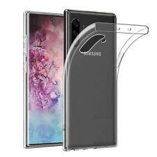 For Galaxy Note 10 10+ Plus OFFICIAL Ultra Thin Soft Clear TPU Back Cover Case