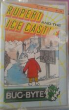 Rupert and the Ice Castle (Bug Byte 1986) C64 (Tape, Manual, Box) 100% ok