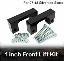 "1"" Front Leveling lift kit For Chevy Silverado 2007-2019 GMC Sierra GM 1500"