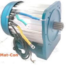 BLDC Elektromotor E-Motor bürstenlos brushless 5KW 48V 27Nm 3000U/min vor/zurück
