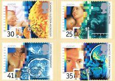 1994  - Medical Discoveries PHQ Card set, St. Bartholomew's Hospital handstamp