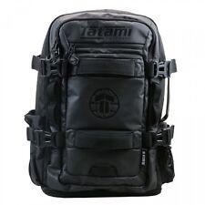 Tatami Omega Backpack Black BJJ No-Gi Brazilian Jiu Jitsu MMA Gym Gear Day Bag