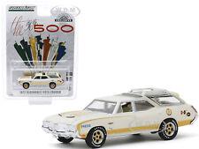 1972 OLDSMOBILE VISTA CRUISER PRESS CAR INDIANAPOLIS RACE 1/64 GREENLIGHT 30114