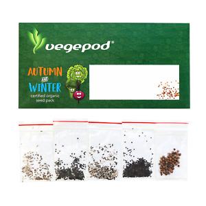 Vegepod Australia Autumn / Winter Certified Organic Seed Pack