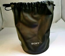 Sony Soft Lens Drawstring pouch Case for FE 24mm 20mm f1.4 Genuine 85mm f1.8