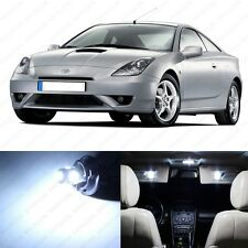 8 x White LED Interior Lights Package For 2002 - 2005 Toyota Celica + PRY TOOL