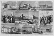 BLACKWELL'S ISLAND PENITENTIARY SMALL POX CHARITY HOSPITAL WORKHOUSE CONVICTS