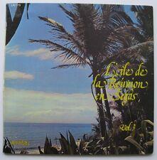 LP La Reunion - Sega - Jacky Lechat Georges Amaury Maryline Joelle Paris