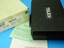 """""""NOS"""" TELEX HT-100 Wireless Microphone Condenser Cardioid Vintage 178.400 Freq"""