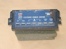 1981-1989 CADILLAC CLIMATE CONTROL,ELECTRONIC CLIMATE CONTROL,A/C,FLEETWOOD,