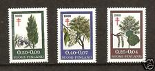 FINLAND # B-185-7 MNH TREES JUNIPER ASPEN NATURE