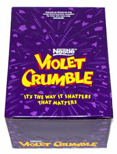 910365 42 x 50g PACKETS OF NESTLE'S FAMOUS VIOLET CRUMBLE - AN AUSTRALIAN ICON!