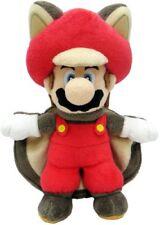 """Sanei Little Super Mario 9"""" Squirrel Musasabi Mario Plush Doll"""