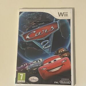 Cars 2 Nintendo Wii Game (Brand New & Factory Sealed)