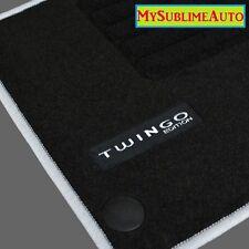 Tapis De Sol Renault Twingo 3 III Depuis 2014 Velours Edition Logo Brodé NEUFS