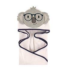 Hudson Baby Animal Face Hooded Towel for Baby Boys Smart Koala Bear