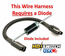 Bad Boy 070-2000-00 PTO Clutch Pigtail Wire Harness WITH Diode - Made in USA