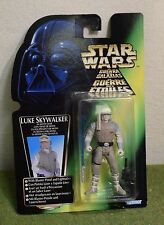 STAR WARS CARDED POWER OF THE FORCE GREEN CARD LUKE HOTH GEAR