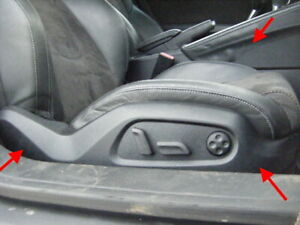AUDI TT MK2 BLACK EDITION HALF LEATHER S LINE FULL ELECTRIC SEATS *ULTRA RARE*
