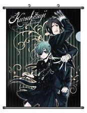 Home Decor Poster Wall Scroll Black Butler 2 Kuroshitsuji Ciel Phantomhive 45*60