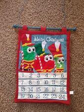 Veggie Tales Advent Calendar Fabric Merry Christmas Holiday Veggietales Dicksons