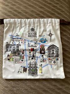 Molton Brown London Drawstring Bag