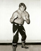 Owen Hart Old School Calgary Stampede Wrestling Print Photo 8x6 WWF WCW