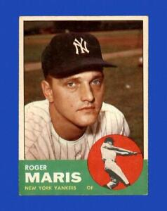 1963 Topps Set Break #120 Roger Maris VG-VGEX *GMCARDS*