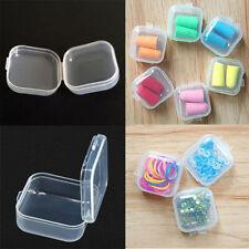 Mini Clear Plastic Storage Box Jewelry Bead Screw Organizer Container Container