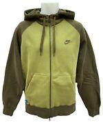 NEW Vintage NIKE Sportswear NSW Heavyweight Hoodie Jacket Olive Green M