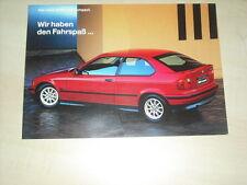 BMW 3er e36 Compact 316i 318ti 318tds prosspekt di 1997