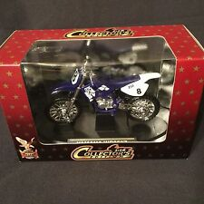 Yat Ming Collector's Edition 1:18 Road Signature Blue Yamaha WR250Z Motorcycle