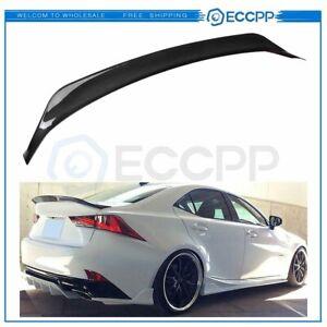 Fits 12-19 Lexus IS200 IS250 IS350 IS300 Real Carbon Fiber Trunk Spoiler Wing