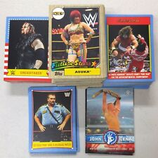 2017 Topps WWE Heritage 200 Cards Complete Set Base 100 Cards Insert 100 Cards