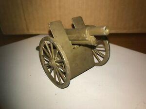 "Diecast WW2 Field Artillery Piece/Cannon, 5"" x 2 1/4"""