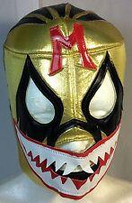 MIL MASCARAS SHARK!! -VINTAGE- LUCHADOR/WRESTLER MASK! GREAT FOR HALLOWEEN!!