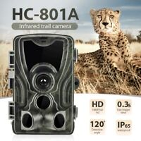HC-801A Hunting Trail Camera 16MP 1080P HD Video Night Vision IP65 IR Cam Trap W
