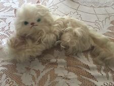 Antique Beautiful Toy Stuffed Cat Long Lovely Soft Hair
