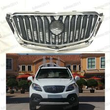 Front Chrome Bumper Upper Grille Assembly For Buick Encore 2013-2015
