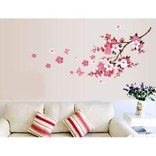 Elegant Removable Flower+Butterflies Mural Wall Sticker For Girl's Room Decor