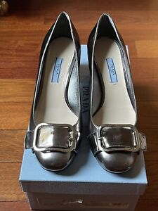 Prada womens shoes size 38 with Box And Dust Bags