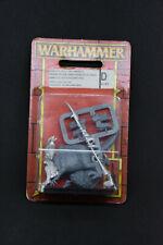 Warhammer Dark Elf Cold One Knight Metal New